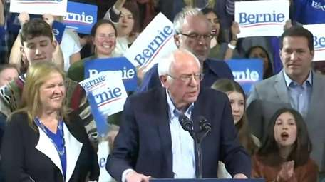 Bernie Sanders told supporters with