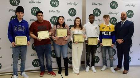 In Mastic Beach, the Floyd Academy recently hosted