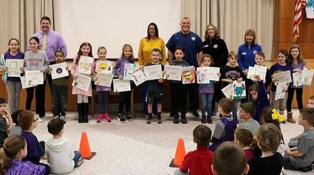 In Sayville, Sunrise Drive Elementary School recently held