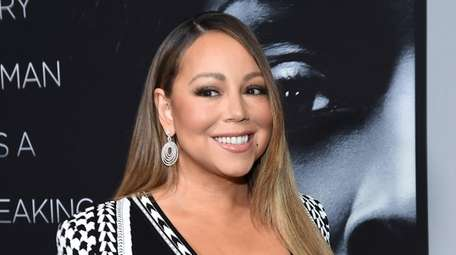 Mariah Carey attends the premiere of Tyler Perry's