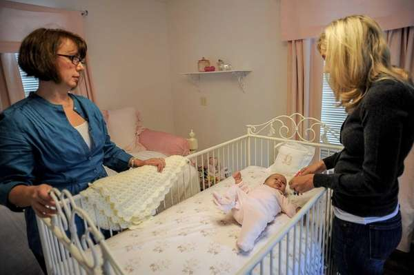 Kathy Koncelik is a postpartum doula in the
