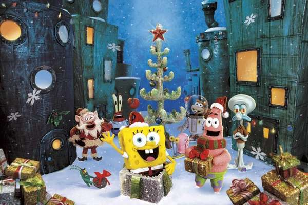 """It's a SpongeBob Christmas!"" premiers at 9:30 p.m."