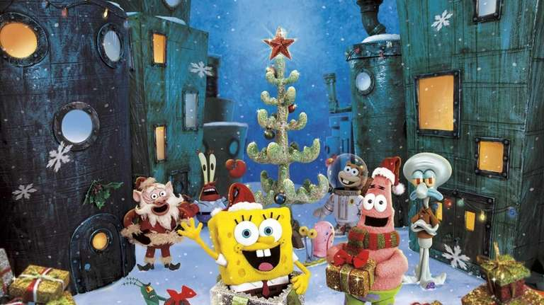 its a spongebob christmas premiers at 930 pm friday on cbs and repeats at 730 pm dec 9 on nickelodeon the half hour special features john - Christmas Shows For Kids