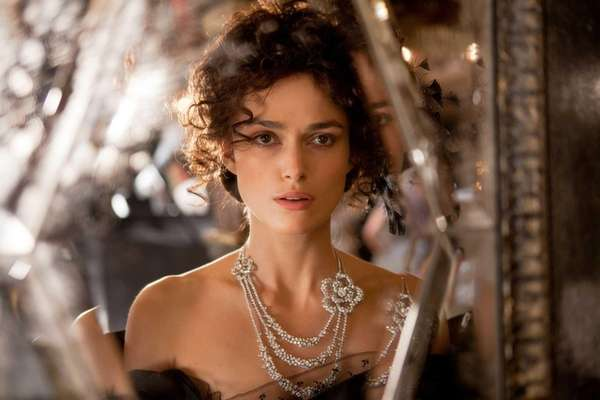 "Keira Knightley in a scene from ""Anna Karenina."""