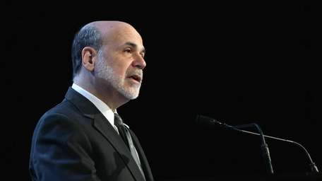 Federal Reserve Chairman Ben Bernanke addresses the Economic
