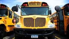 A file photo of school buses.