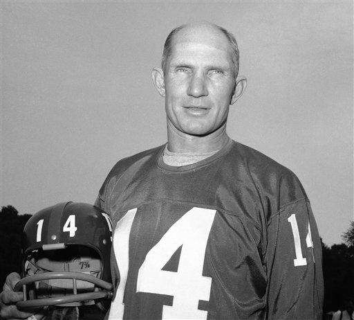 Y.A. TITTLE 505 yards, Oct. 28, 1962 The