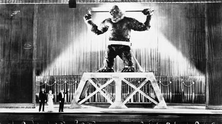 """The 1933 """"King Kong"""" movie will be playing"""