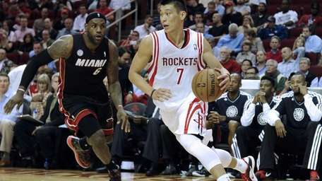 JEREMY LIN Even though Lin is now in