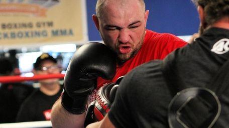 Adam Kownacki prepares for his March 7 WBA
