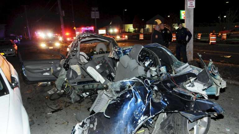 The driver of Honda Civic was seriously injured