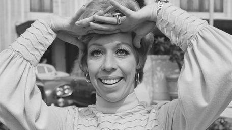 Carol Burnett seen in 1970, when her weekly