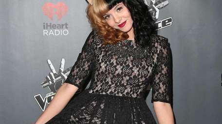 Contestant Melanie Martinez, who is from Baldwin, attends