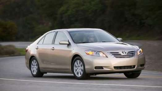 Hybrid cars, including the 2009 Toyota Camry Hybrid