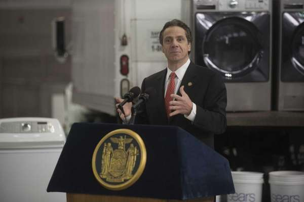 New York State Governor Andrew Cuomo. (Nov. 20,