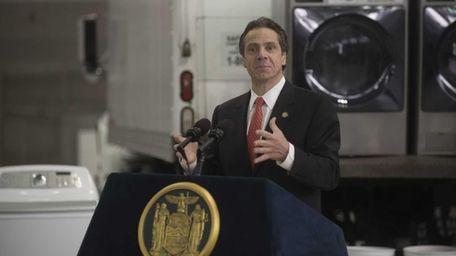New York State Governor Andrew Cuomo. (Nov. 20,