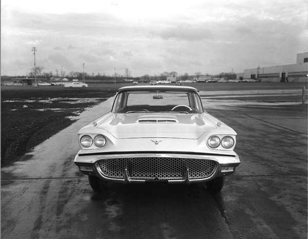 The 1958 Ford Thunderbird was named the car