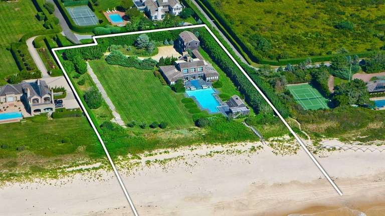 This 4.3-plus-acre Southampton waterfront estate -- listed last