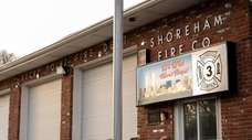 The Rocky Point Fire House, as seen on