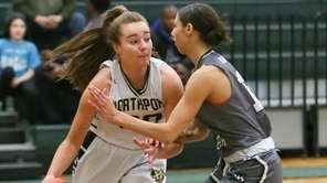 Northport's Kerry Dennin looks to get around Westhampton's