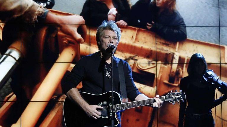 Jon Bon Jovi performs in New York during