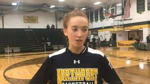 Northport senior guard Kelly McLaughlin discusses the Tigers'