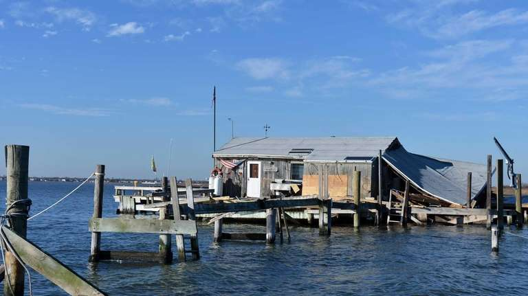 The Beers Bay house on Reynolds Channel, one