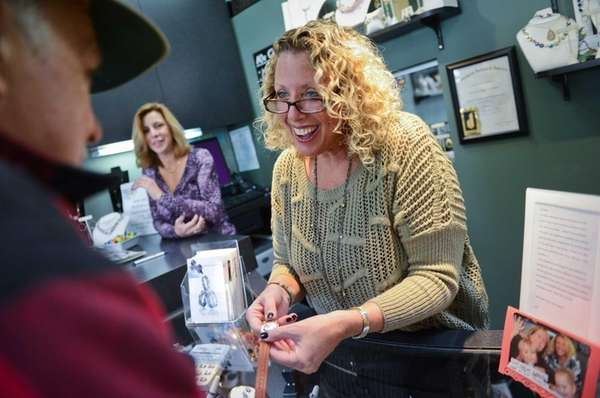 Carole Singer, owner of Carole's Corner Fine Jewelry