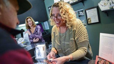 Carole Singer, owner of Carole's Corner Fine Jewelry
