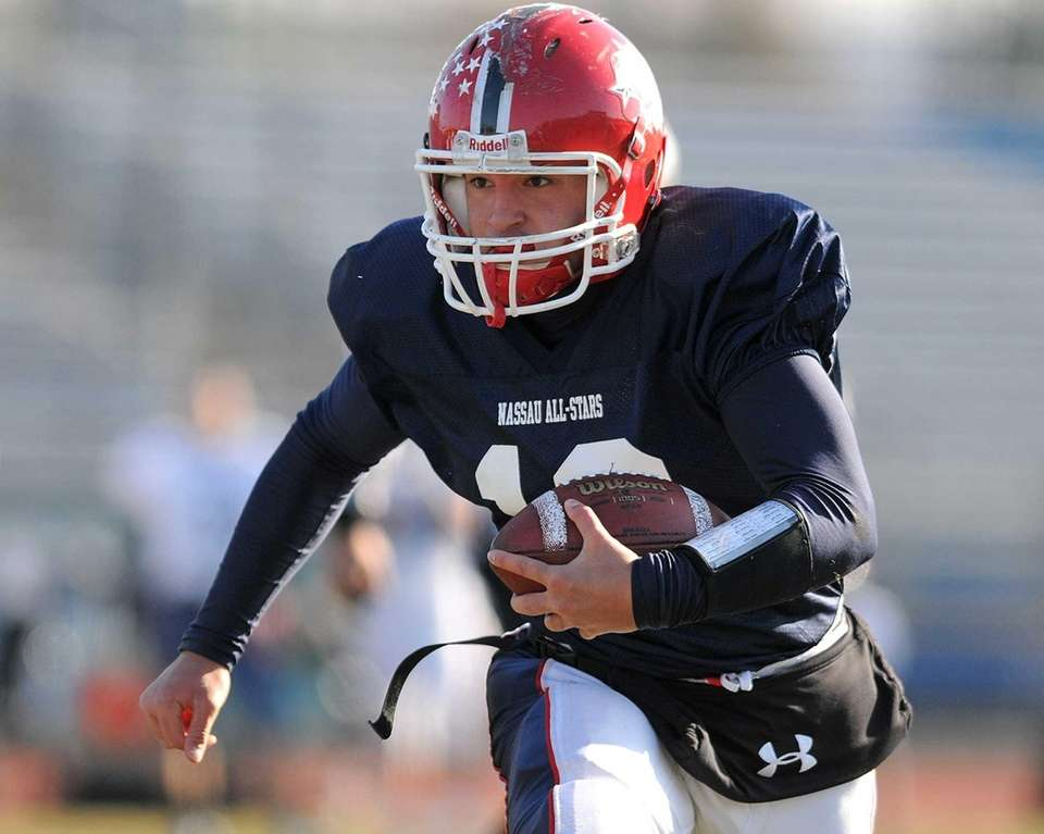 Blue Team (Conferences II and III) quarterback #12