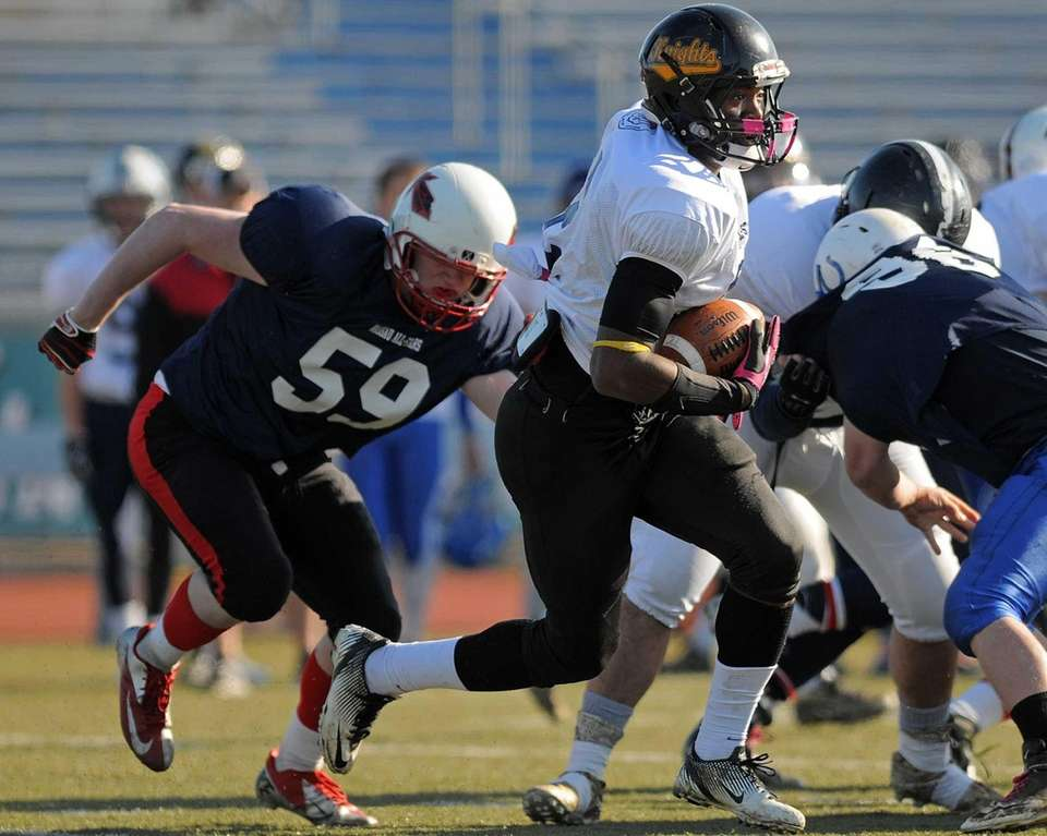 White Team (Conferences I and IV) running back