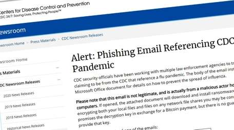 Cybercriminals are sending emails that pretend to be