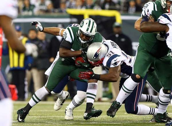 Bilal Powell of the New York Jets is