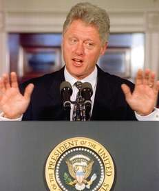 Bill Clinton ran on a platform of change.