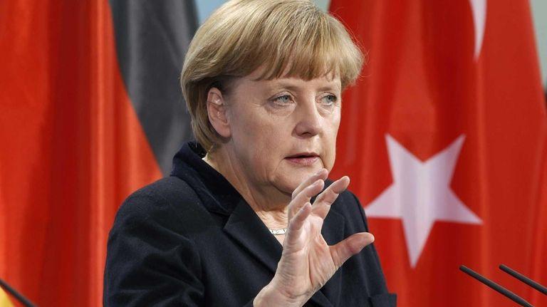 German Chancellor Angela Merkel (Oct. 31, 2012)