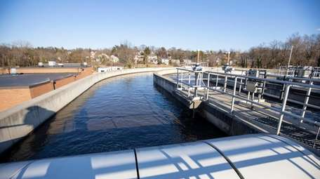 The Great Neck Water Pollution Control District started