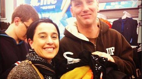 Vikki Rella, left, and her husband, Andrew Rella,