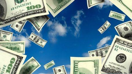 An illustration of money.