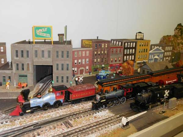 The St. James Model Railroad Club is holding