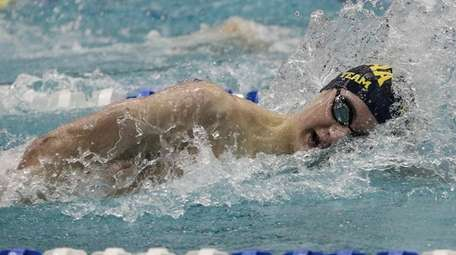 Nicholas Shopis of Chaminade competes in the 500