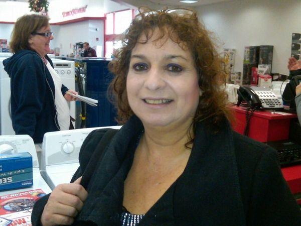 Barbara Popelaski of Inwood purchased a new washer-dryer