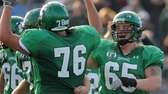 Farmingdale's Steve Arnone, right, and Mike Sinatro celebrate