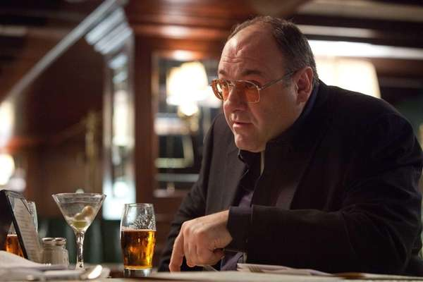"James Gandolfini as Mickey in ""Killing Them Softly."""