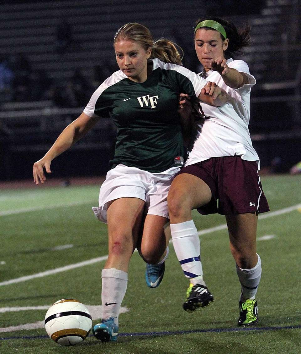 William Floyd's Kimberly Outsen and Mepham's Gabrielle Weiner