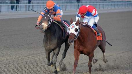 In this photo provided by New York Racing