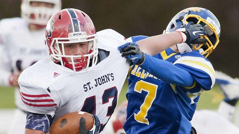 St. John the Baptist running back Jonathan Wiswall