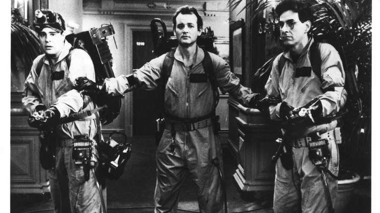 From the left: Dan Akroyd, Bill Murray and