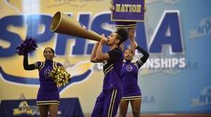 Central Islip competing in the Co-Ed Division at