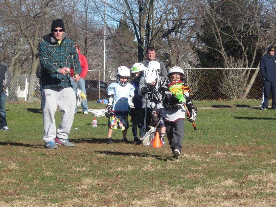 Long Island Lizards lacrosse player Michael Skudin, of