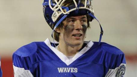 Riverhead quarterback Ryan Bitzer is seen during a